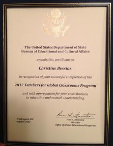 TGC certificate